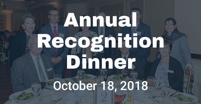 Annual Recognition Dinner 2018