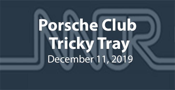 Porsche Club Tricky Tray