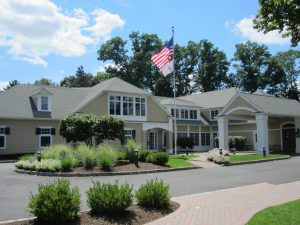 Rockaway River Country Club clubhouse